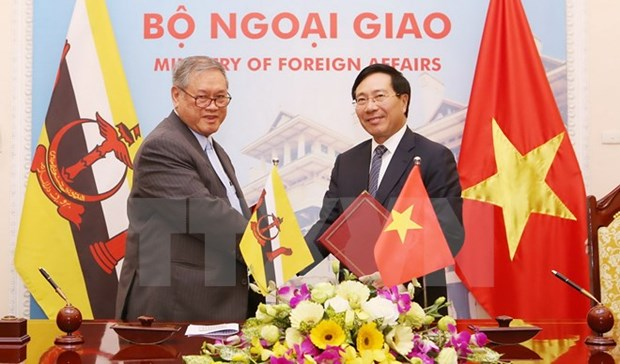 Vietnam, Brunei target 500 mln USD two-way trade by 2025 hinh anh 1