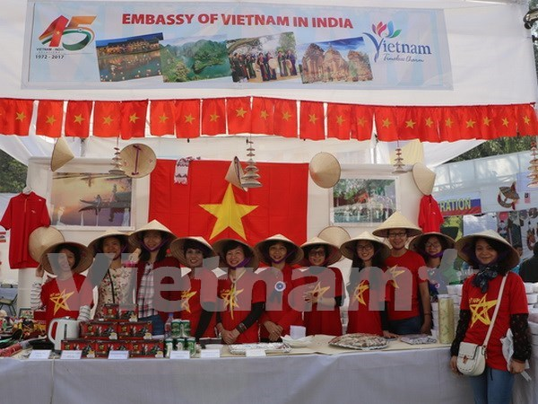 Vietnam joins charity fair in Indian hinh anh 1