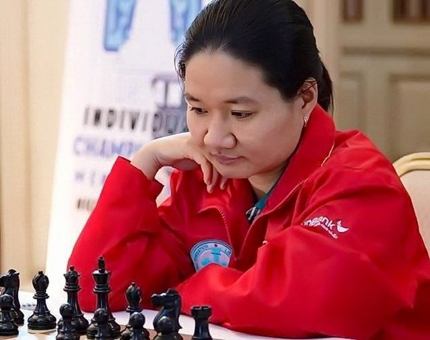 Vietnamese masters dominate chess tournament in Philippines hinh anh 1