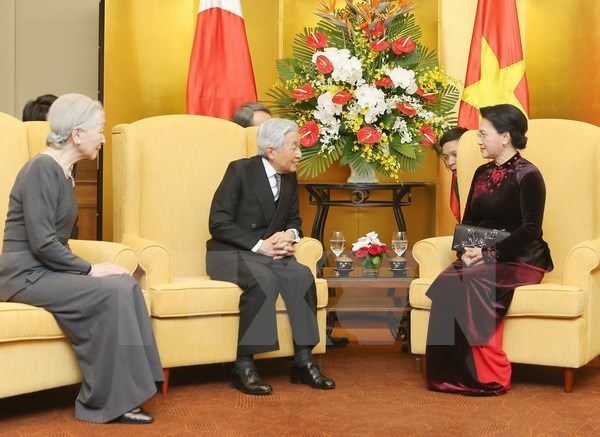 NA Chairwoman wishes for closer friendship with Japan hinh anh 1