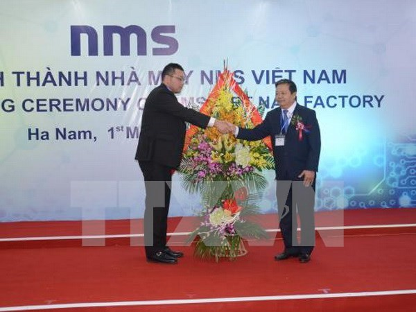 Japanese-funded plant inaugurated in Ha Nam hinh anh 1
