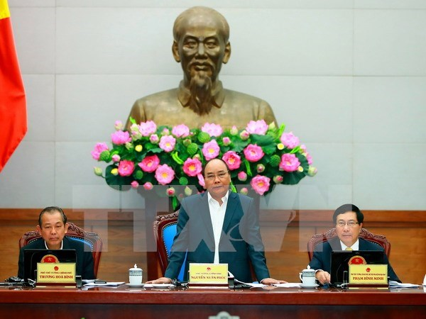 PM repeats request for strong actions to reach 6.7-percent growth rate hinh anh 1