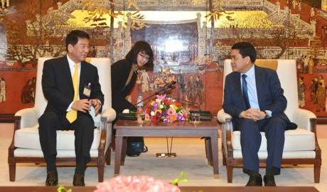 Japan willing to support Hanoi in firefighting training hinh anh 1