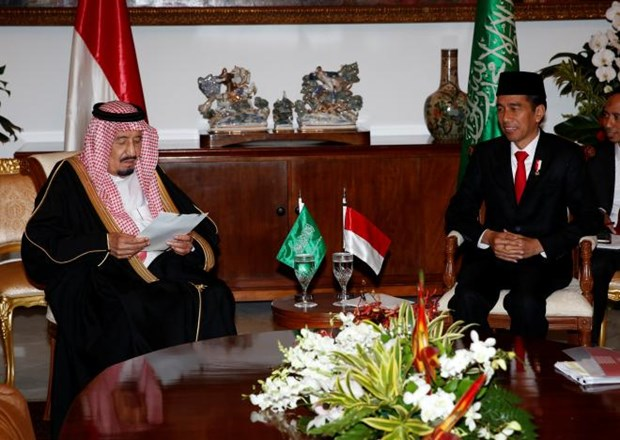 Indonesia, Saudi Arabia link up hinh anh 1