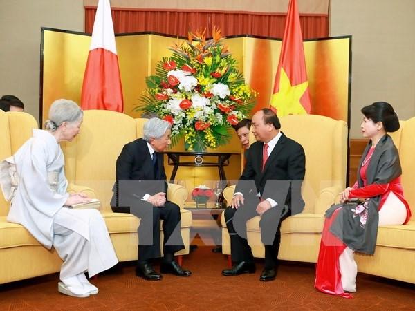 Prime Minister hails Japanese Emperor's visit as memorable landmark hinh anh 1