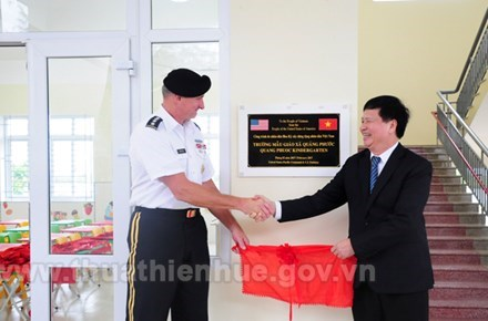 US helps Thua Thien-Hue build kindergarten school hinh anh 1