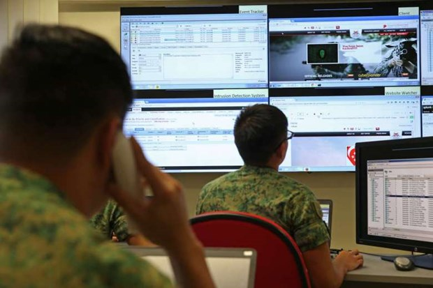 Singapore sets up cyber command hinh anh 1
