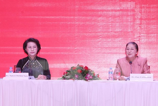 Lao NA Chairwoman to visit Vietnam hinh anh 1