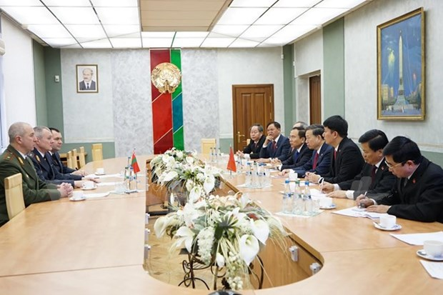 Vietnam, Belarus bolster cooperation in crime fight hinh anh 1