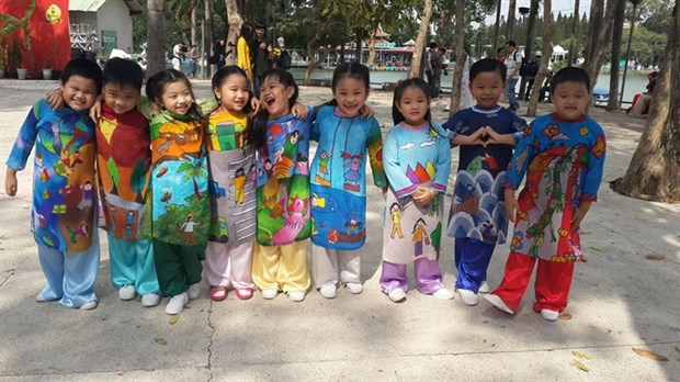 Ao Dai Festival 2017 brings classic glamour to HCM City hinh anh 1