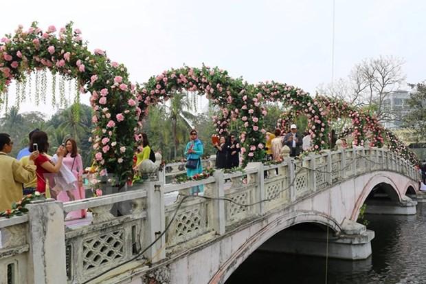 Bulgaria rose fest opens in Hanoi hinh anh 1