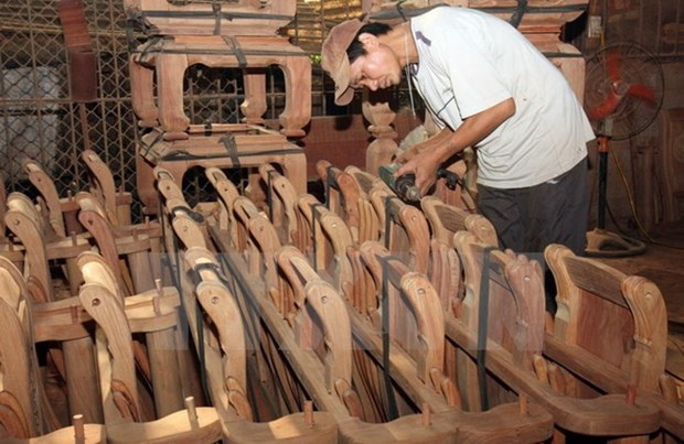 Handicraft export value hits 1.6 billion USD yearly hinh anh 1