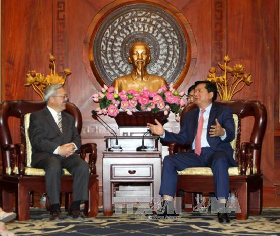 HCM City, US locality deepen relations hinh anh 1