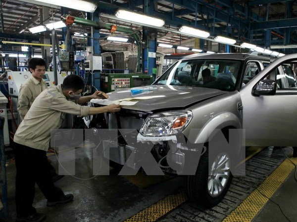 Vietnamese automaker, Huyndai launch project hinh anh 1