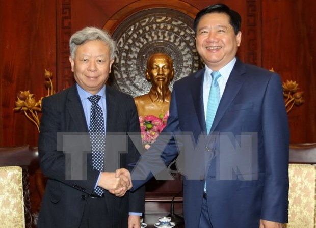 Asian infrastructure bank wants increased cooperation with HCM City hinh anh 1