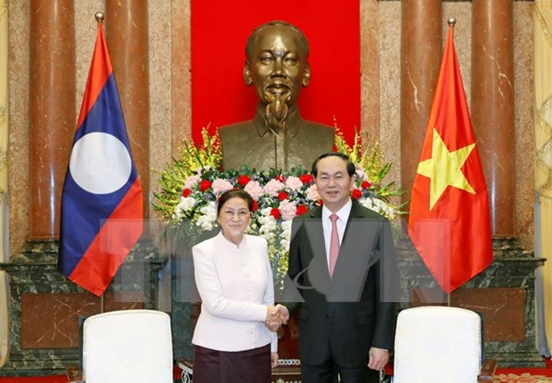 President calls for effective implementation of VN-Laos agreements hinh anh 1