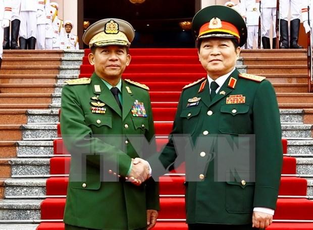 Vietnam, Myanmar enhance defence collaboration hinh anh 1