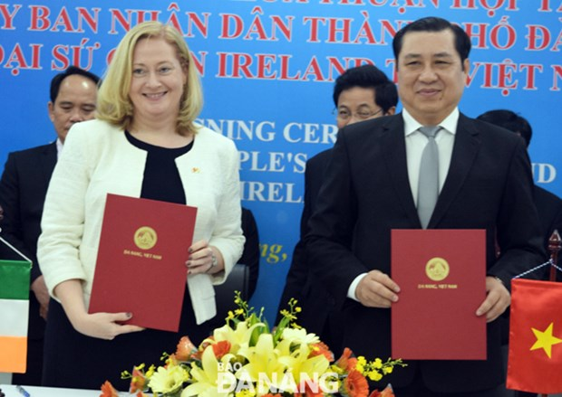 Ireland, Da Nang to cooperate in education hinh anh 1