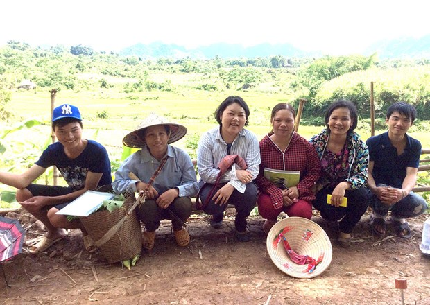Japanese woman kindles organic cultivation among Vietnamese farmers hinh anh 1