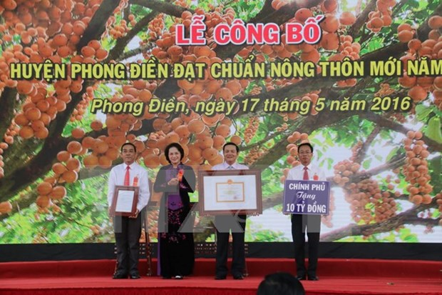 Can Tho expects to complete new-style rural area building by 2020 hinh anh 1