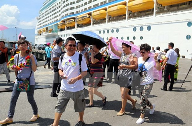 Tourists to Da Nang by sea up 30 percent hinh anh 1