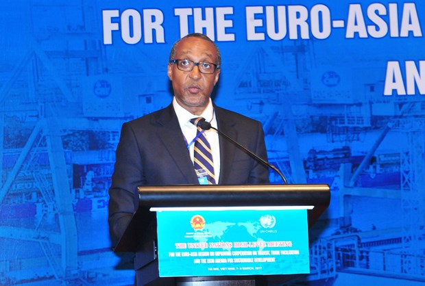 UN meeting debates cooperation in transit, trade facilitation hinh anh 1