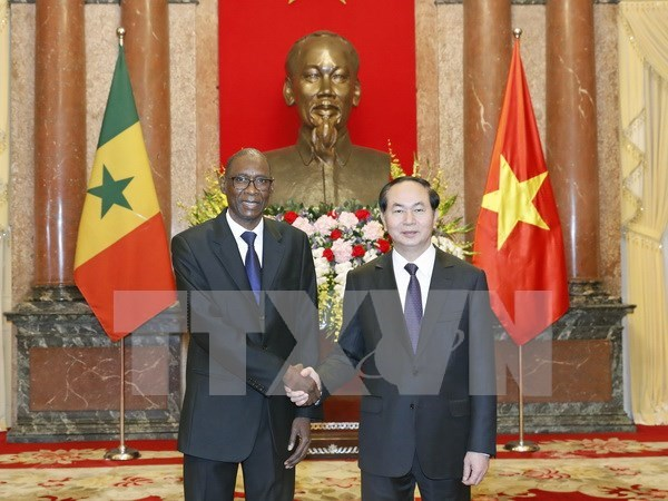 President receives newly-accredited ambassadors hinh anh 5