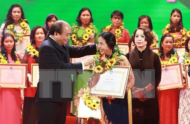 Programme honours Vietnamese women hinh anh 1