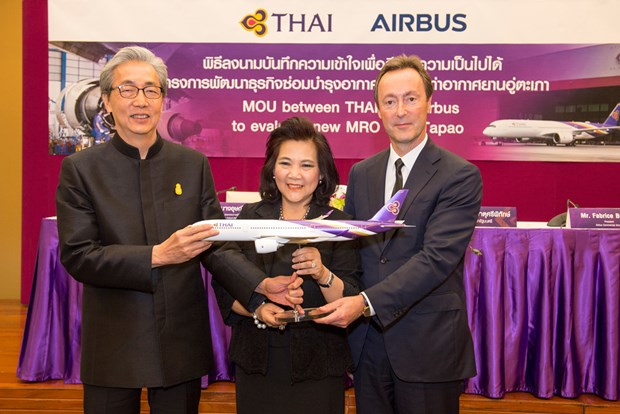 Thailand, Airbus join hands to build aircraft maintenance facility hinh anh 1