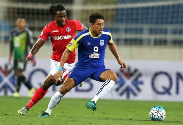 Quang Ninh Coal draw on AFC Cup debut hinh anh 1