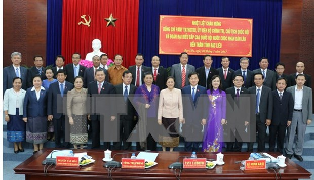Bac Lieu hoped to increase ties with Lao localities hinh anh 1