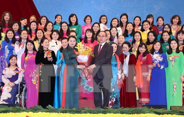 National Women's Congress concludes, picks seven new goals hinh anh 1