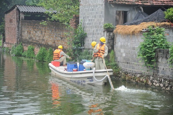 Hanoi: Dozens of polluted lakes cleaned up hinh anh 1