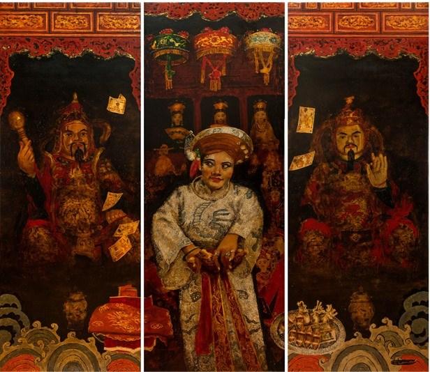 Exhibition celebrates Mother Goddesses Worship hinh anh 2