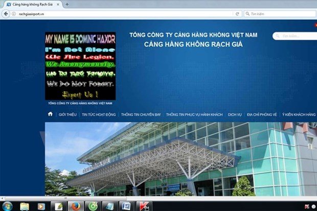 Cyber attacks to airports' websites not affect aviation activities hinh anh 1