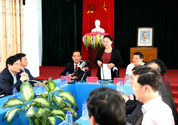 Parliament leader notes development potential of Lai Chau's border district hinh anh 1