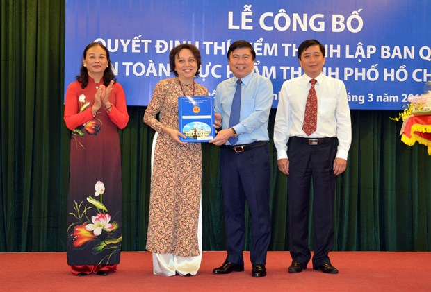 HCM City launches food safety management board hinh anh 1