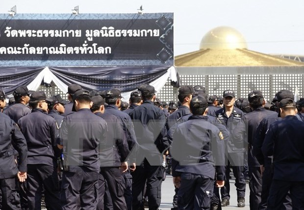 Thailand police ends besiege of Wat Dhammakaya temple hinh anh 1