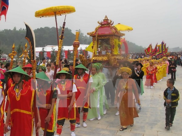 Tay Thien festival commences in Vinh Phuc hinh anh 1