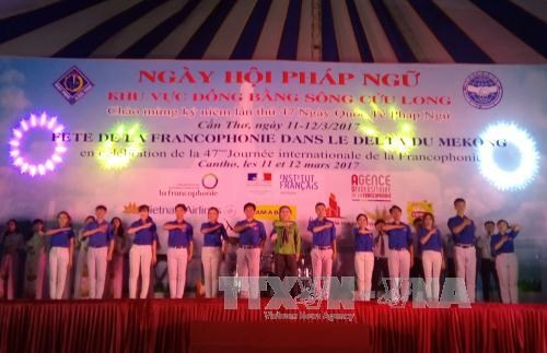 Mekong Delta Francophone Day held in Can Tho hinh anh 1