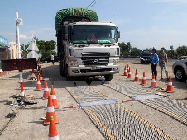 Despite crackdown, overloaded vehicles spotted hinh anh 1