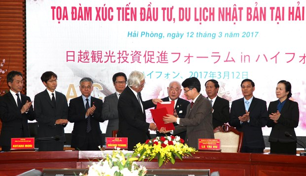 Hai Phong fosters investment, tourism links with Japan hinh anh 1