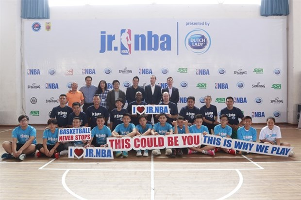 Jr NBA returns to Vietnam for 4th year hinh anh 1