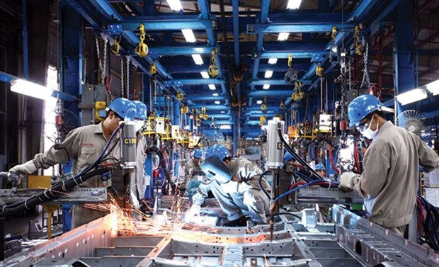 Industrial growth slow, labour productivity low: Party official hinh anh 1
