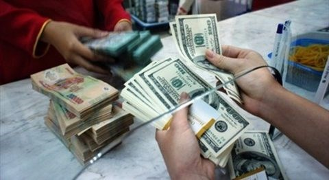 Reference exchange rate drops 1 VND hinh anh 1