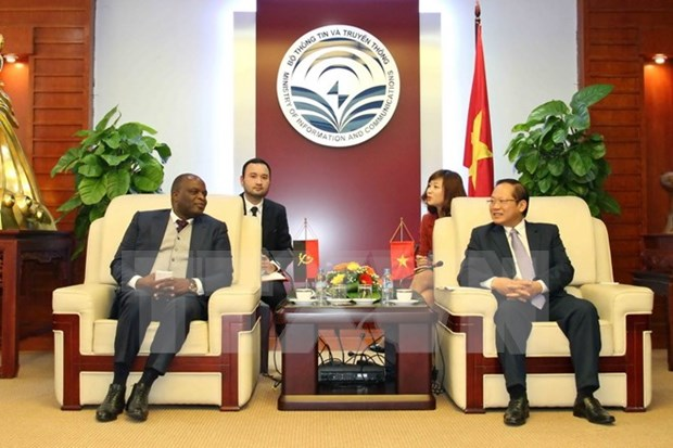 Vietnam, Angola eye IT, telecoms cooperation hinh anh 1