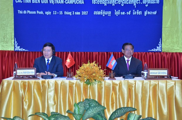 VN, Cambodia border localities urged to do more for border of peace hinh anh 1
