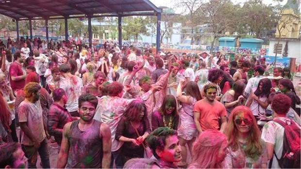 Indian festival of colours to be held in HN hinh anh 1