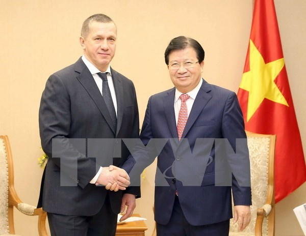 Vietnam, Russia seek to boost economic cooperation hinh anh 1