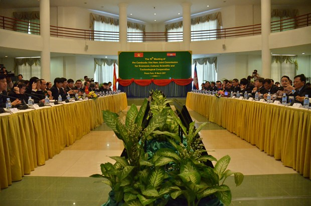 Vietnam, Cambodia agree to cement friendship, cooperation hinh anh 1